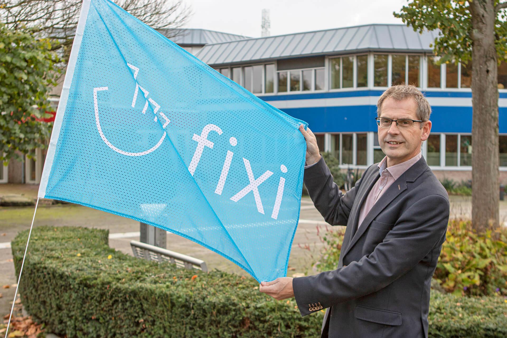 Hijs de vlag met Fixi
