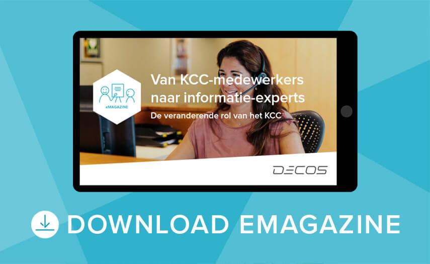 Download het eMagazine JOIN Klantcontact