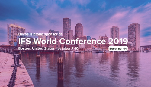 Decos at the IFS World Conference