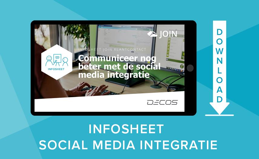 Infosheet social media